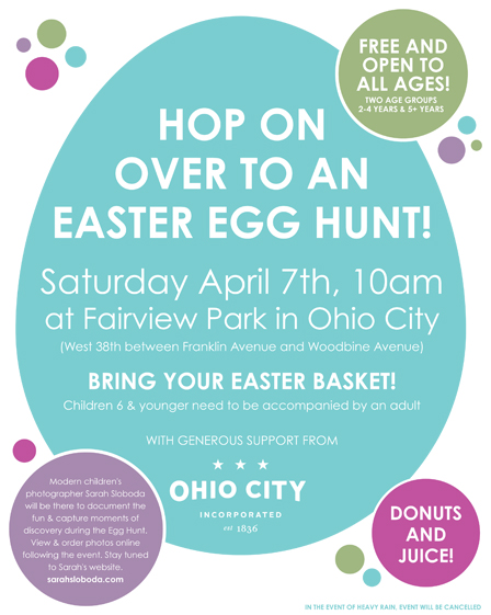 Ohio City Easter Egg Hunt