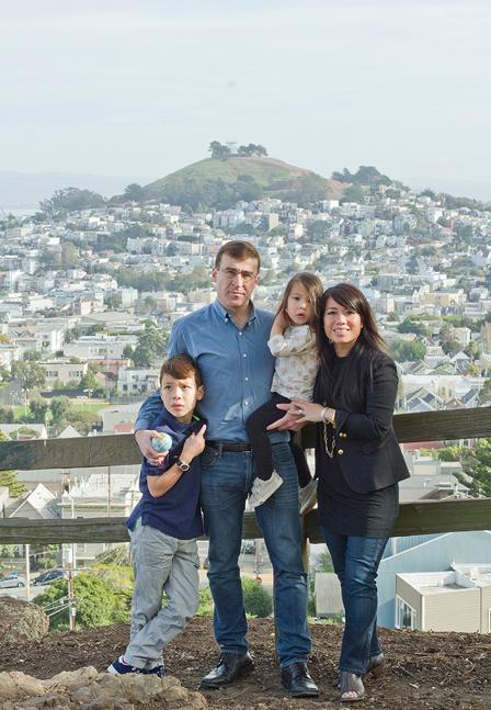 Noe Valley Family Photos - Billy Goat Hill, San Francisco