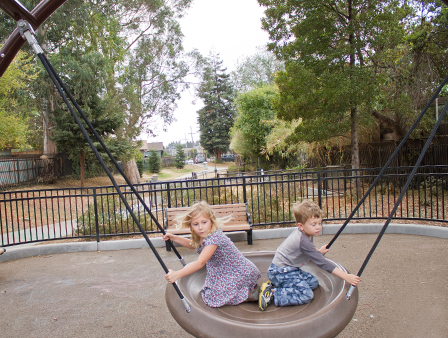 East Bay kids photography - Temescal Creek Park