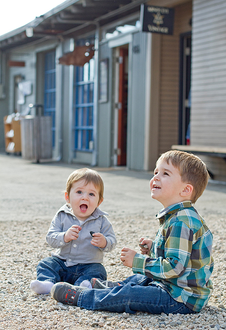 Oakland Family Photography - brothers