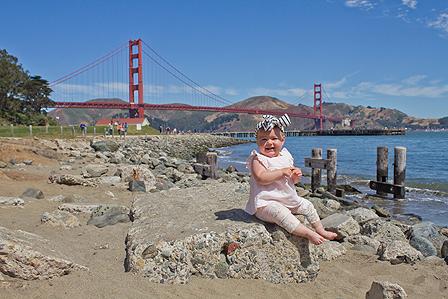 Bay Area Baby Photos - Crissy Field, San Francisco