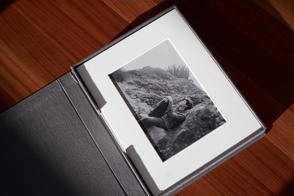matted print box | Family Photo Display Pieces | Modern Family Photographer