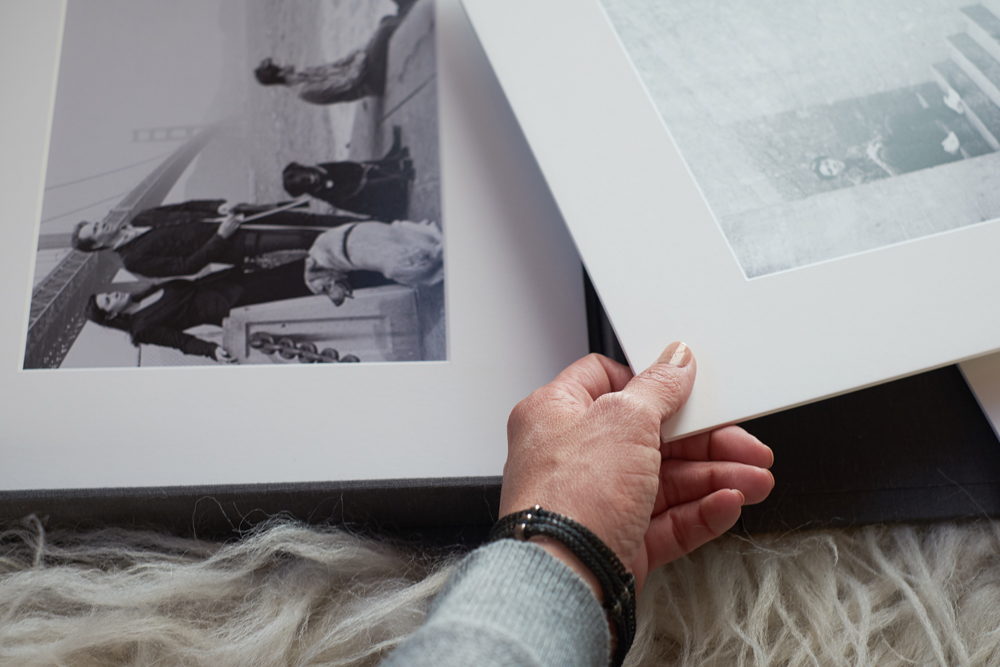 Family Photo Display Pieces | Modern Family Photographer