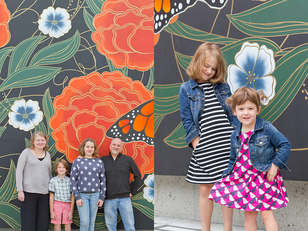 wall mural family portrait - oakland museum of california