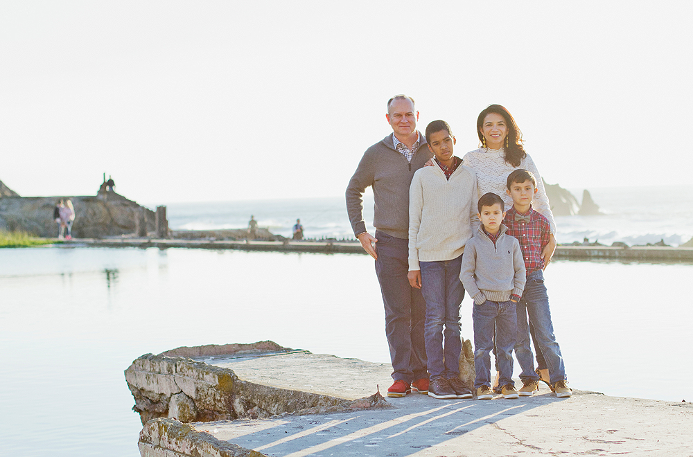 Sutro Baths Family Photos - kids and family photographer