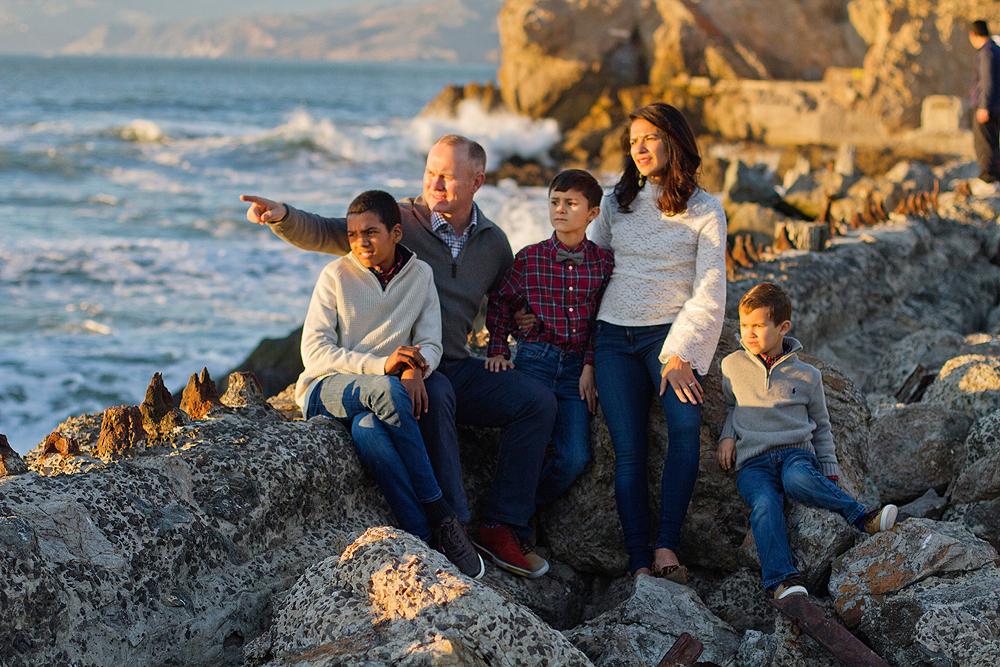 Sutro Baths Family Photos - san francisco family photographer