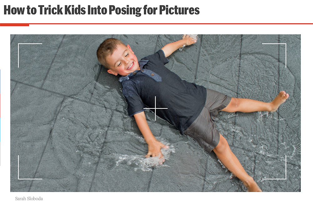 Featured: Fatherly - how to get toddlers to cooperate with photo-taking